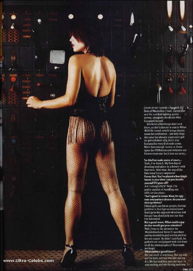 neve campbell nude shower